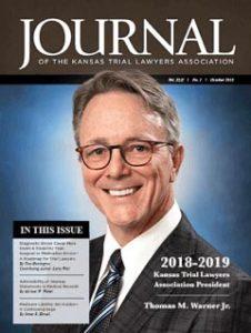 Journal cover Tom Warner